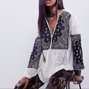 Free People New Romantics Yin & Yang Tunic